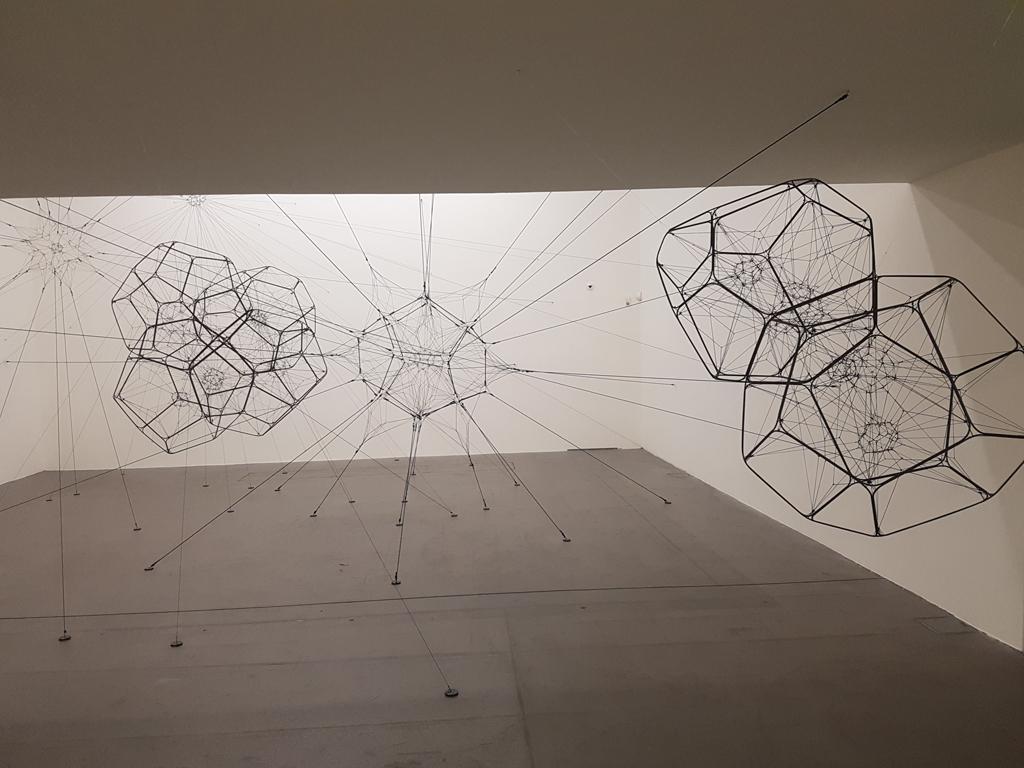 Ausstellung Tomás Saraceno und Jürg Stäuble